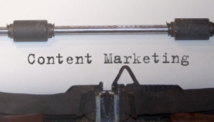 Schreibmaschine Content Marketing
